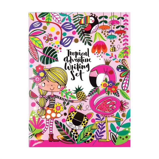 Rachel Ellen Tropical Adventure Writing Set Wallet