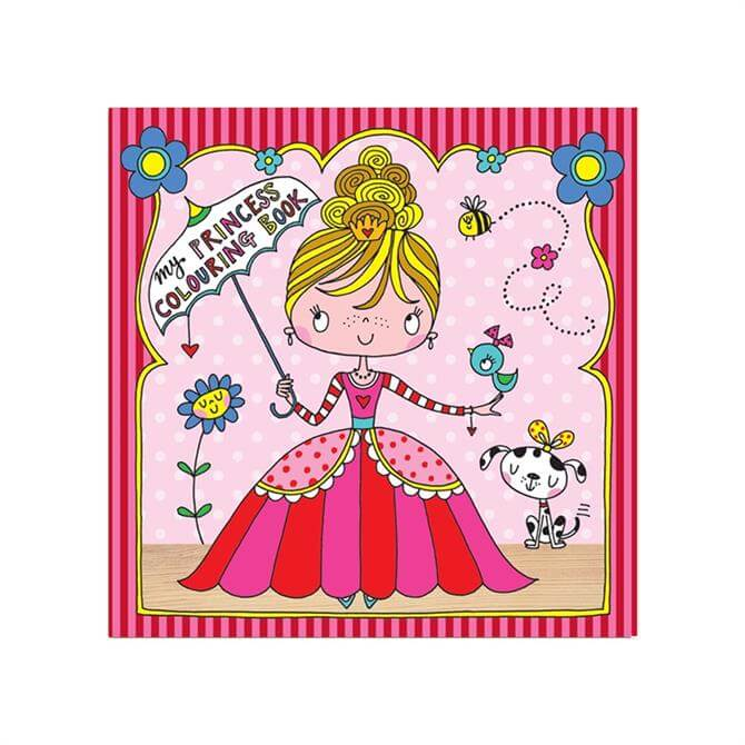 Rachel Ellen Princess Colouring Book