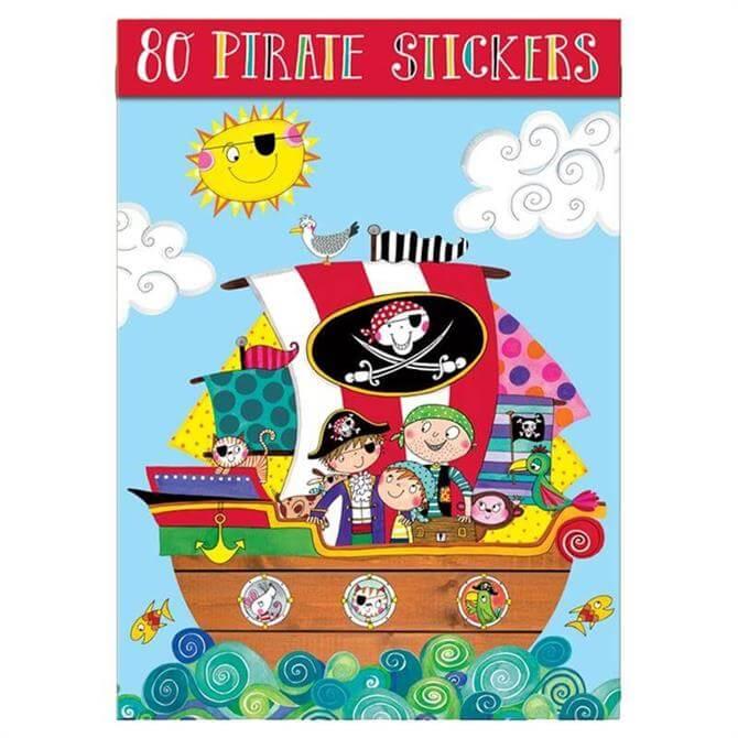Rachel Ellen Pirates Sticker Book