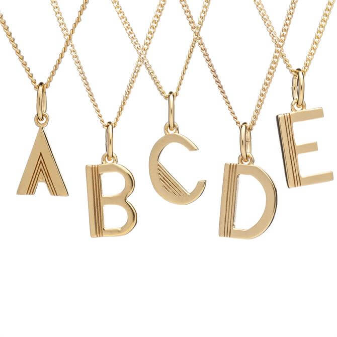 Rachel Jackson London Initial Necklace