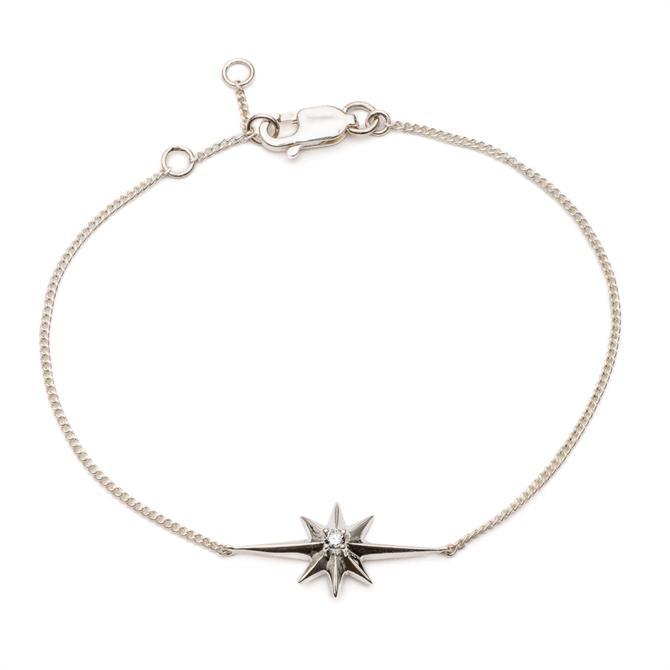 Rachel Jackson London Shooting Star Diamond Bracelet