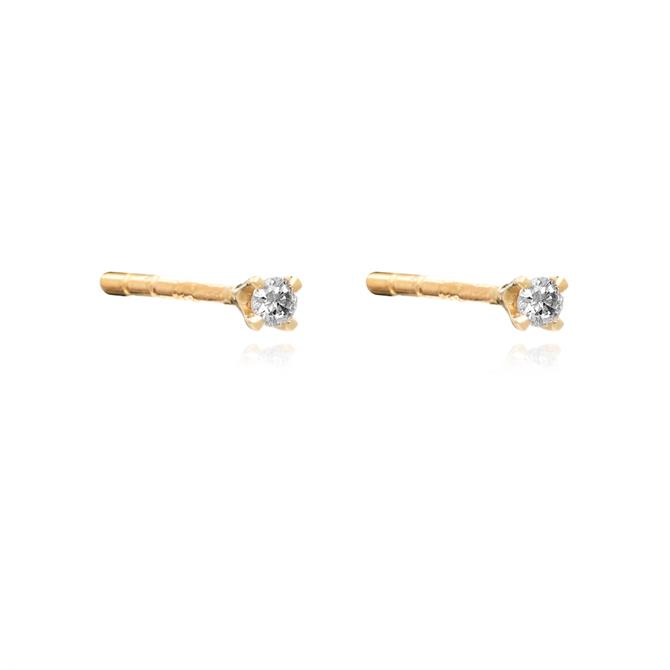Rachel Jackson London Diamond Stud Earrings