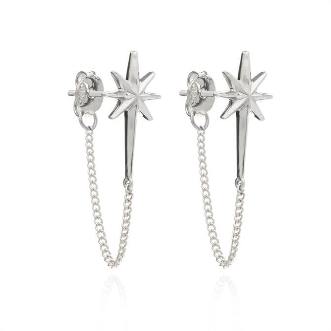 Rachel Jackson London Rockstar Chain Earrings
