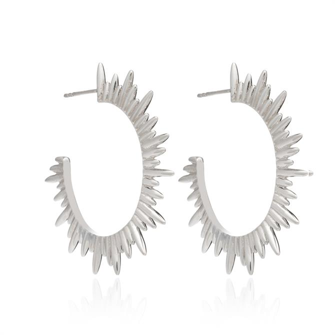Rachel Jackson London Electric Goddess Hoop Earrings