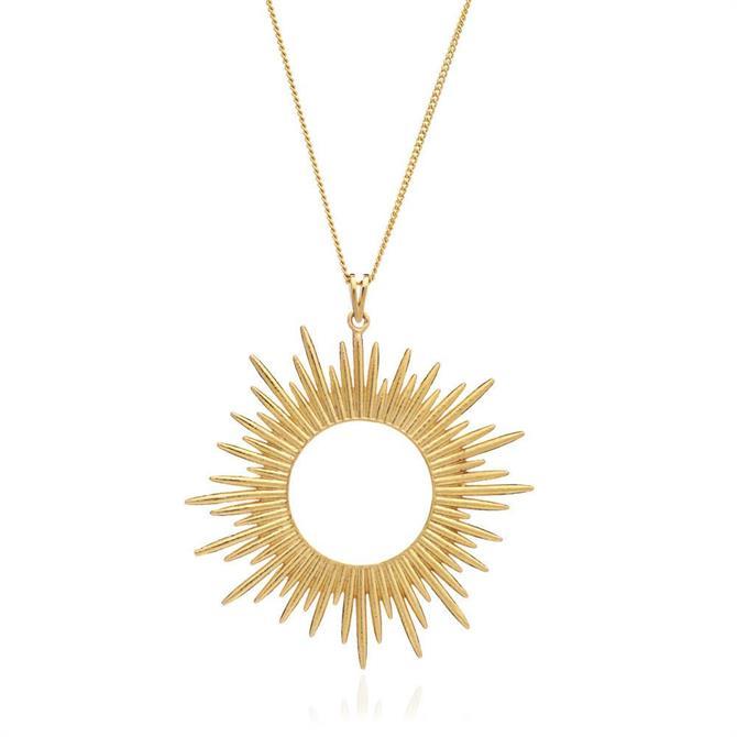 Rachel Jackson London Sunrays Long Necklace
