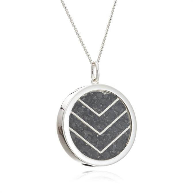 Rachel Jackson London Protection Chevron Amulet Necklace