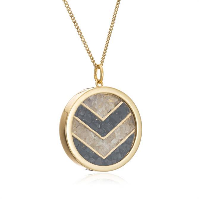 Rachel Jackson London Healing Chevron Amulet Necklace