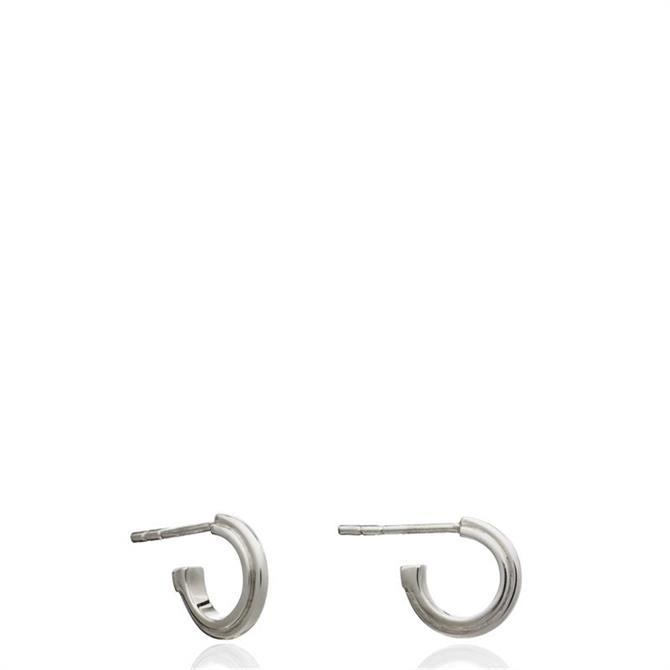 Rachel Jackson London Mini Stepped Hoop Earrings
