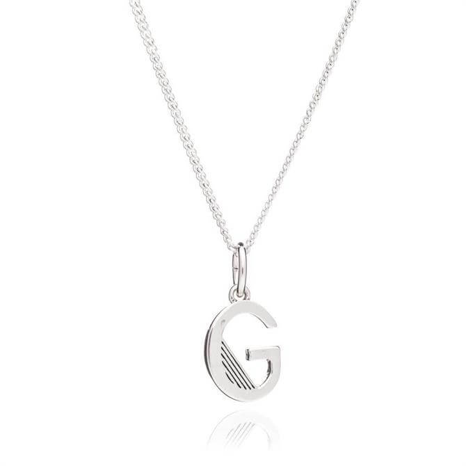 Rachel Jackson G Initial Sterling Silver Necklace