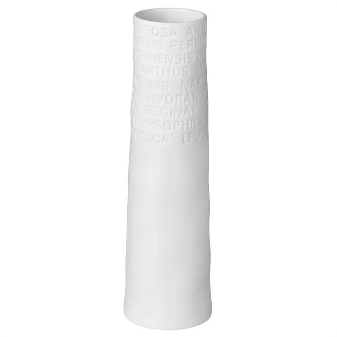 Radar Narrow Text Vase