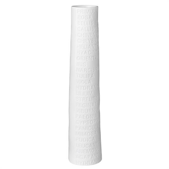 Rader Narrow Text Vase