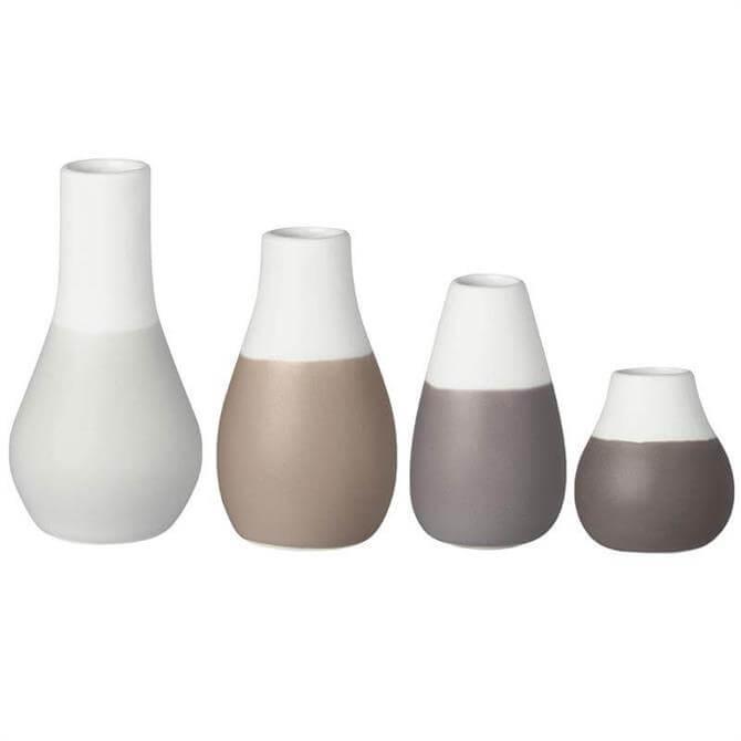 Rader Mini Pastel Set of 4 Vases