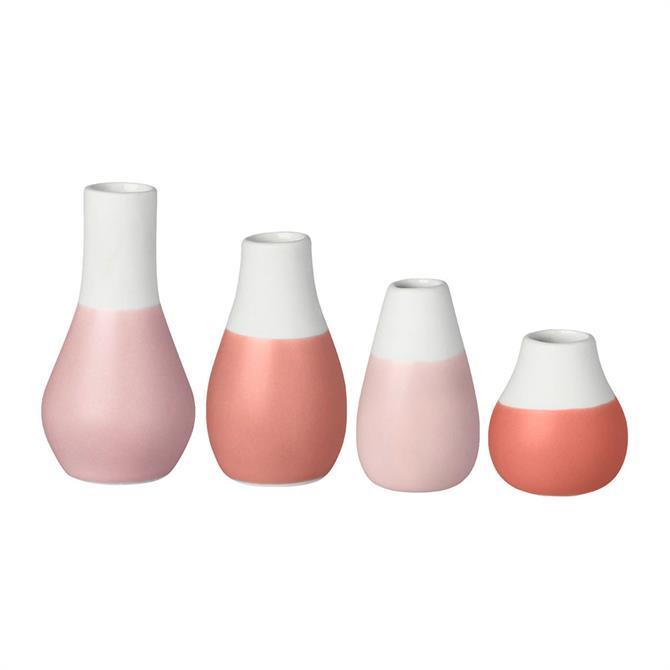 Rader Mini Pastel Vases - Set of 4