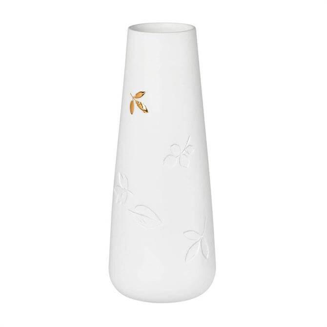 Rader Small Golden Leaf Vase