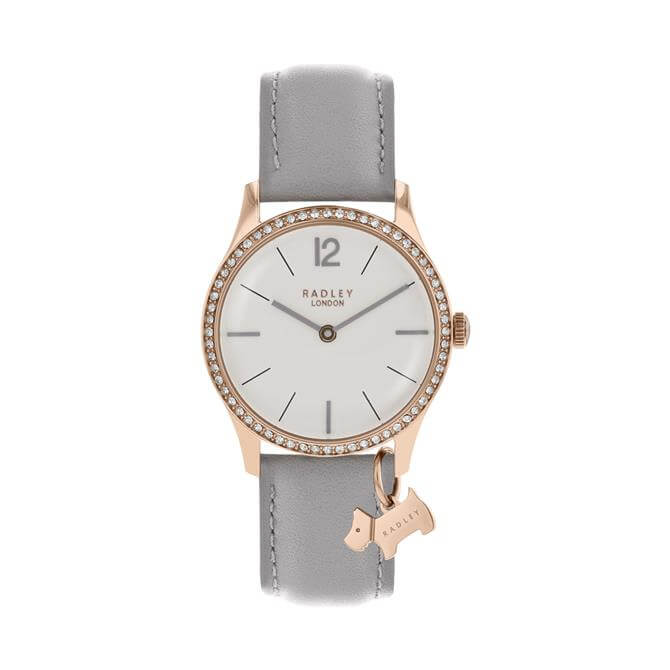 Radley Millbank Grey Leather Watch