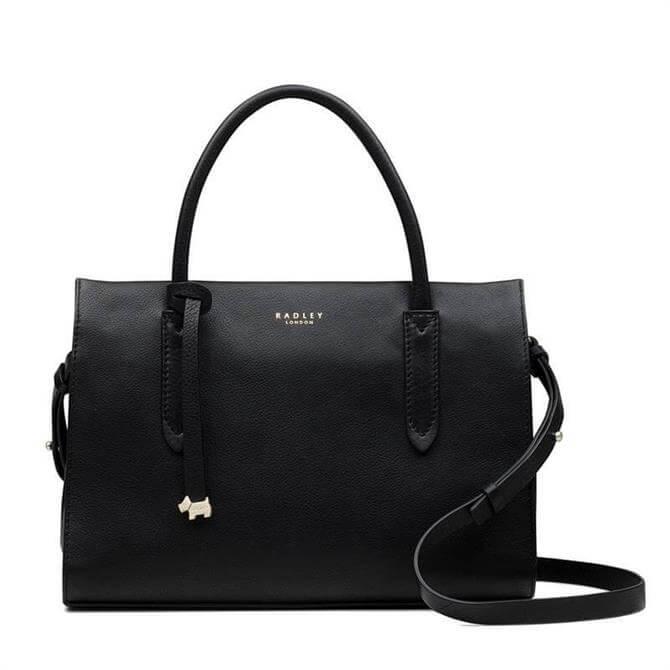 Radley Arlington Court Black Medium Multi Compartment Multiway Bag