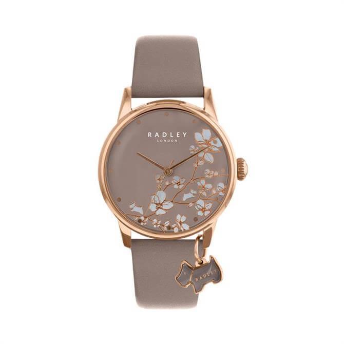 Radley Linear Flower Mink Watch