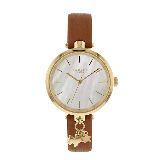 Radley St Dunstan's Tan & Gold Watch