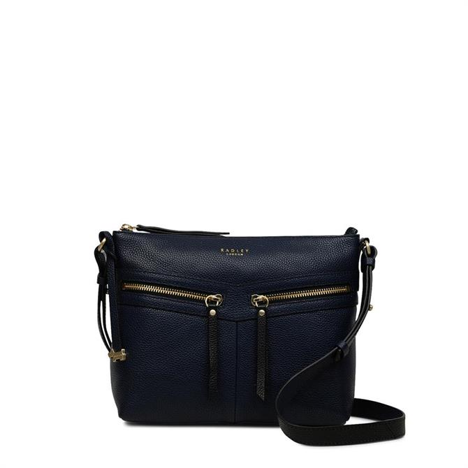 Radley Ink Blue Fountain Road Cross Body Bag