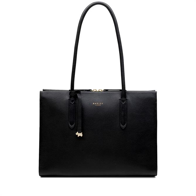 Radley Arlington Court Black Large Multi-Compartment Work Bag