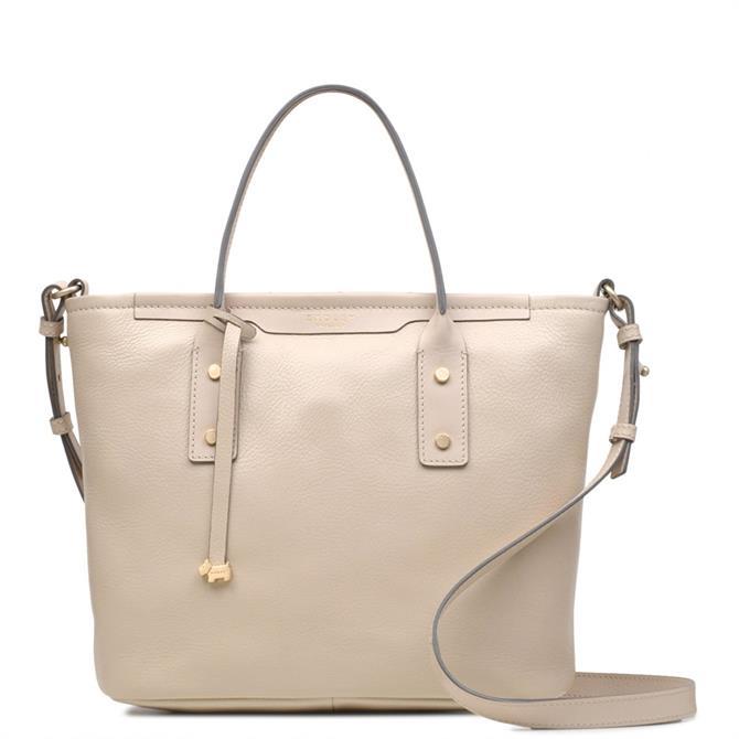 Radley Patcham Palace Dove Grey Medium Multiway Grab Bag