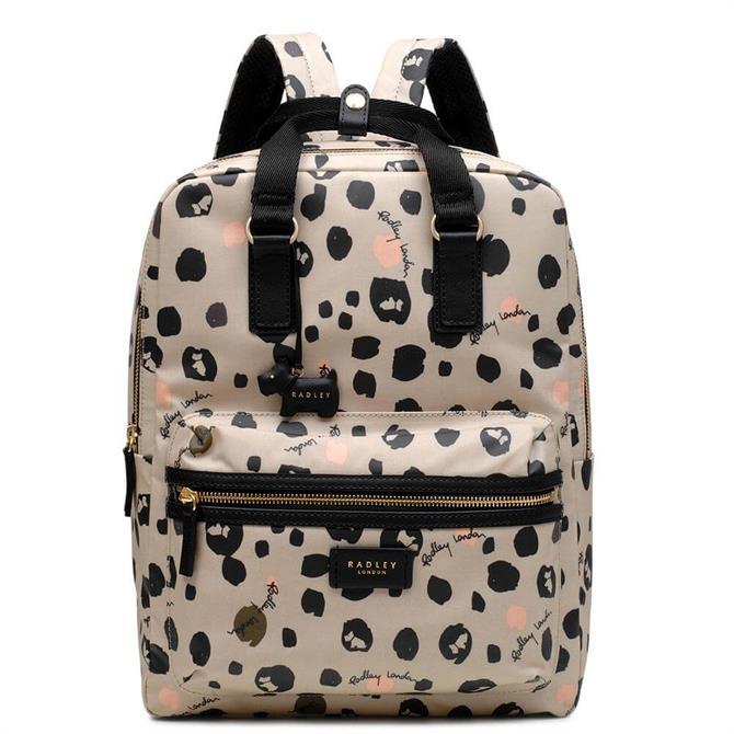 Radley Bubble Dog Large Zip Around Backpack