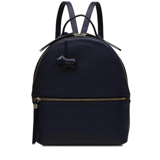 Radley Ink Blue Fountain Road Backpack
