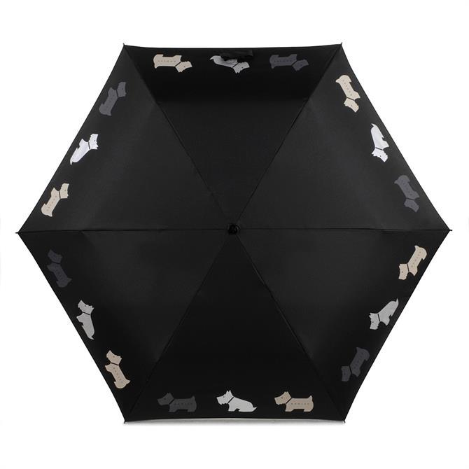 Radley Multi Dogs Telescopic Mini Umbrella
