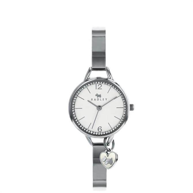 Radley Silver Love Lane Watch with Bracelet Strap