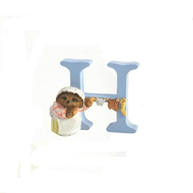 Beatrix Potter Letter H