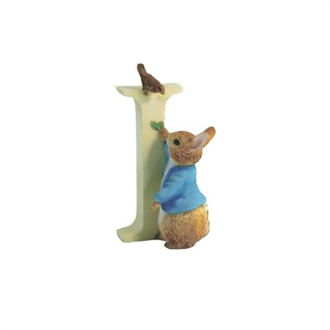Beatrix Potter Letter I Ornament