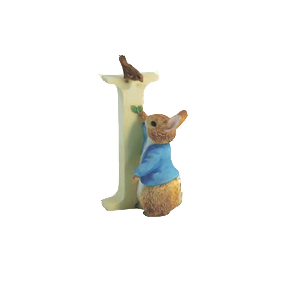An image of Beatrix Potter Letter I Ornament