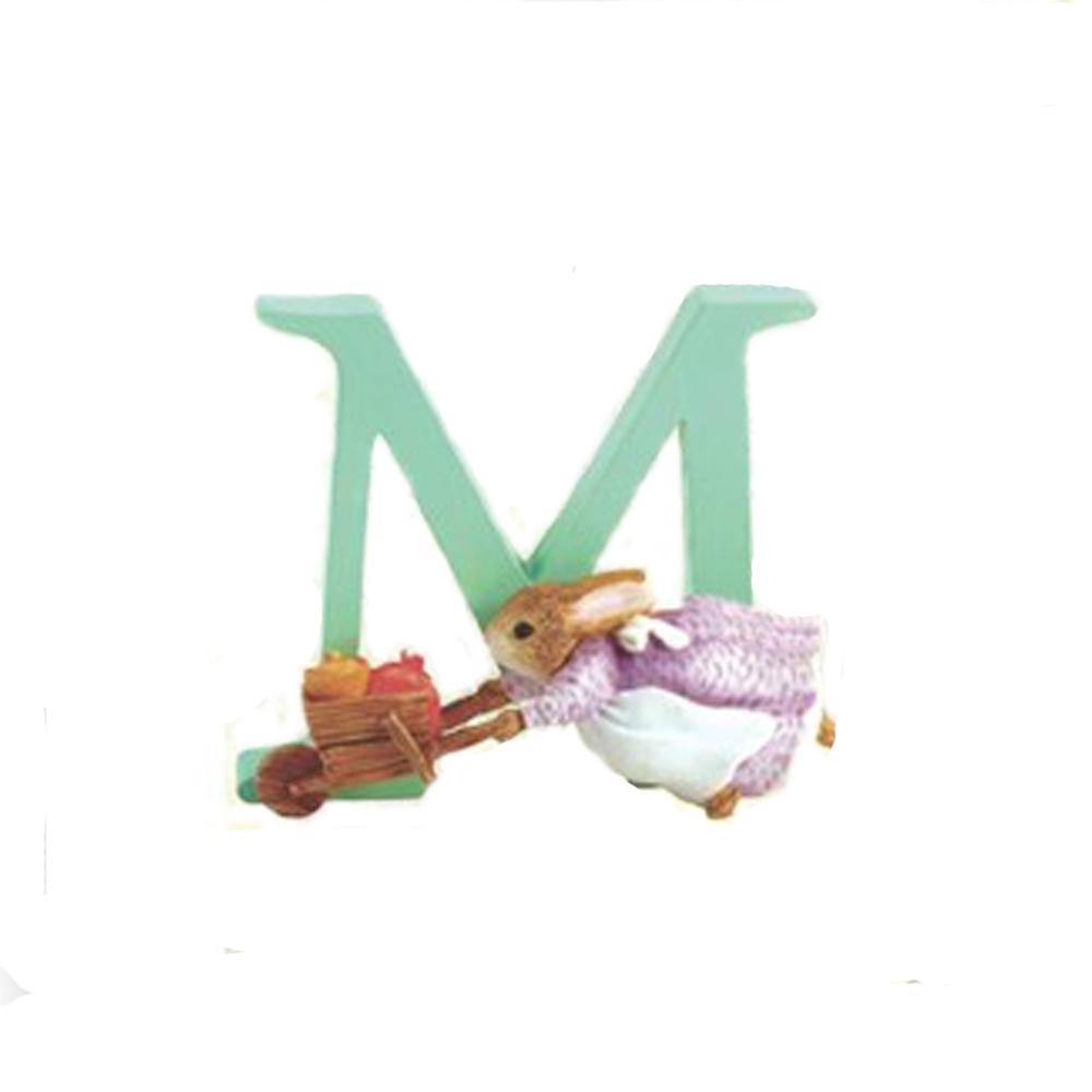 An image of Beatrix Potter Letter M