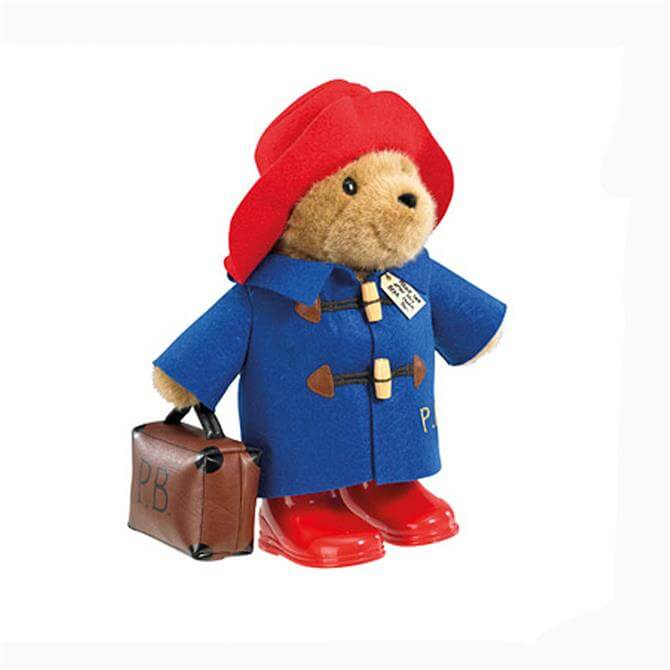 Rainbow Large Paddington with Boots and Case