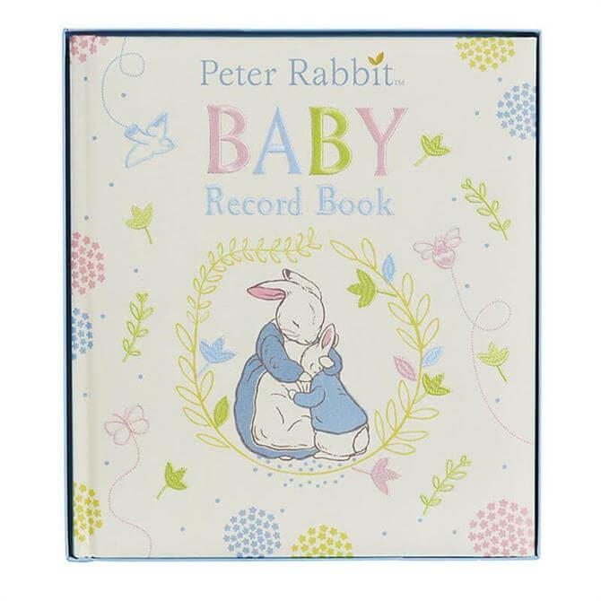 Rainbow Peter Rabbit Baby Record Book