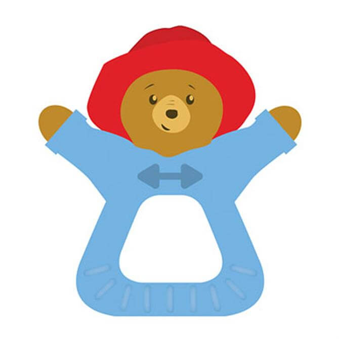 Rainbow Paddington Bear Teether