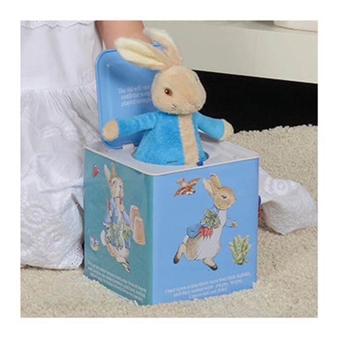 Rainbow Peter Rabbit Jack in the Box