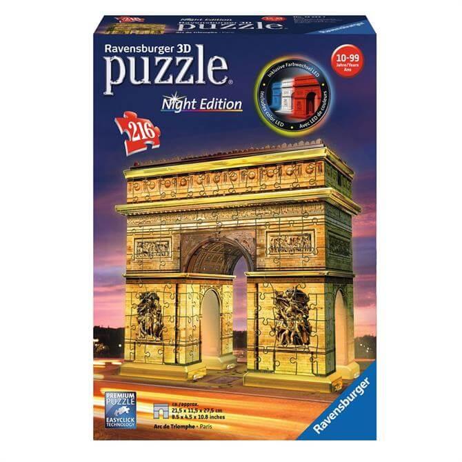 Arc De Triomphe Night Edition 3D Puzzle 216 Pieces