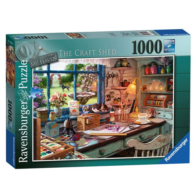 Ravensburger The Craft Shed 1000 Pieces Puzzle
