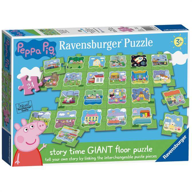 Ravensburger Peppa Pig Tell a Story Floor Puzzle