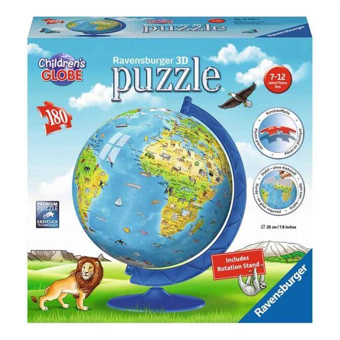 Ravensburger Children's 3D World Map Puzzle
