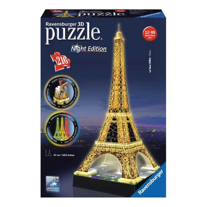 Ravensburger Eiffel Tower Night Edition Puzzle