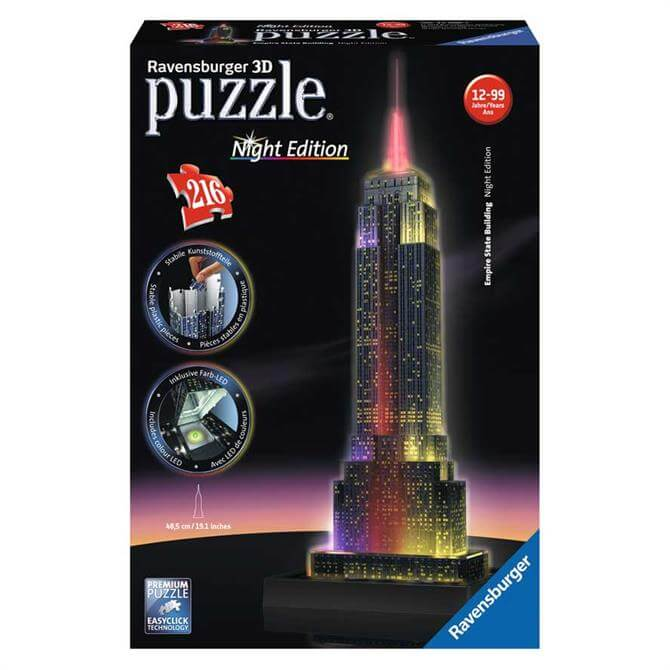 Ravensburger Empire State Building Night Edition Puzzle