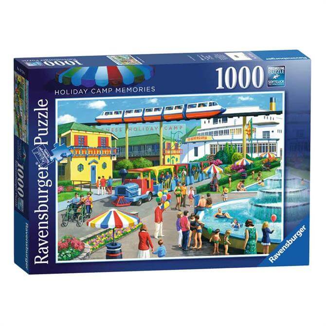 Ravensburger Holiday Camp Memories 1000-Piece