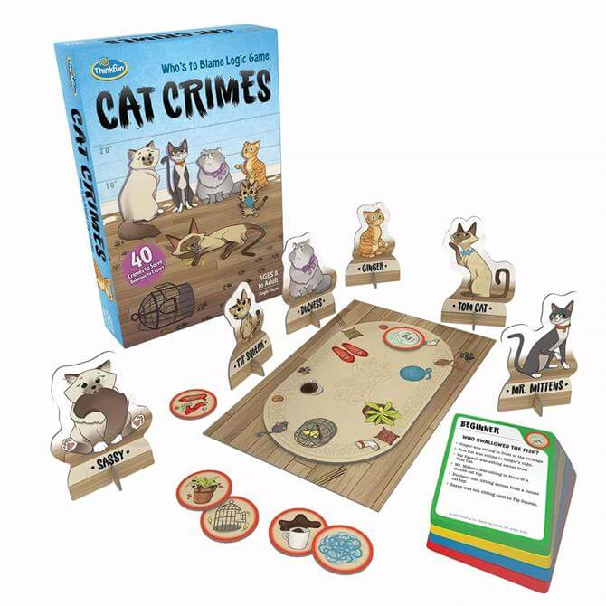 Ravensburger Thinkfun Cat Crimes