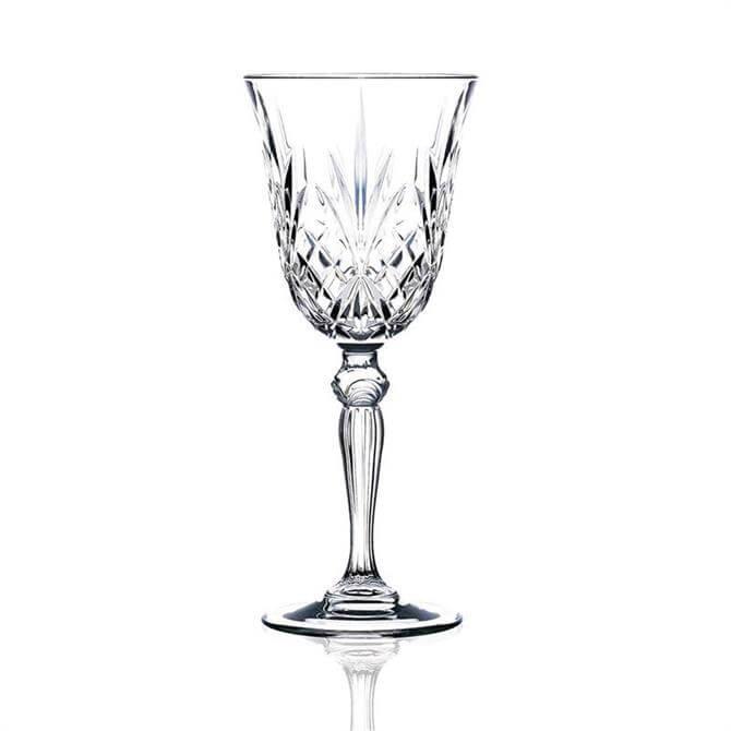 RCR Melodia Crystal Wine Glass