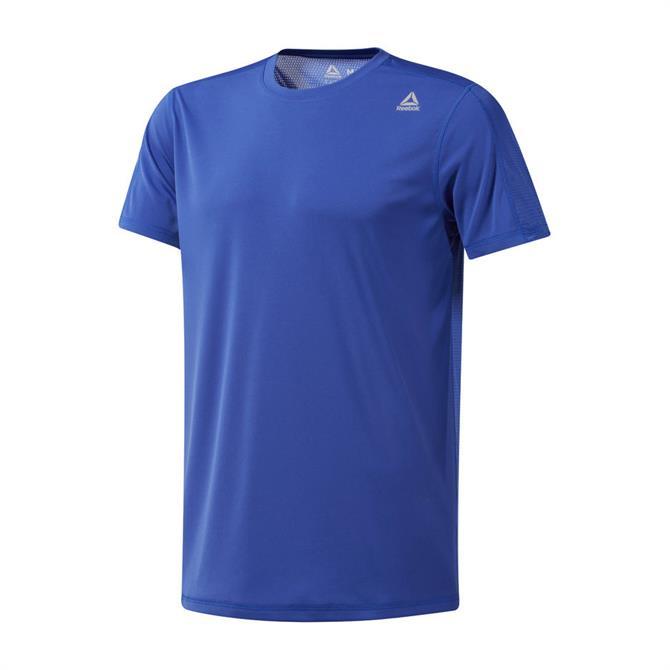 Reebok Men's WOR Tech Fitness Short Sleeve Top - Crushed Cobalt
