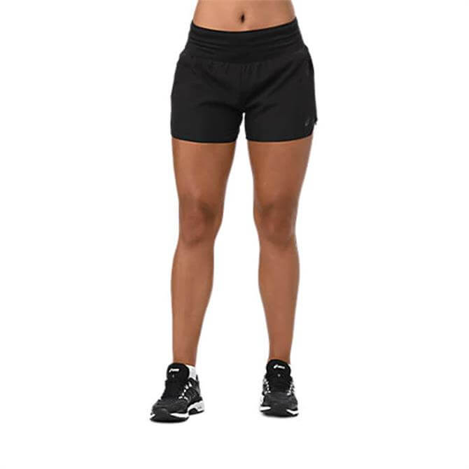 Asics Women's 3.5inch Run Shorts - Black