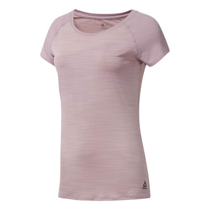 Reebok Women's ACTIVCHILL Vent T-Shirt- Infused Lilac