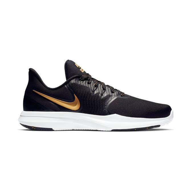 Nike Women's In-Season TR 8 Print Training Shoes - Black Gold